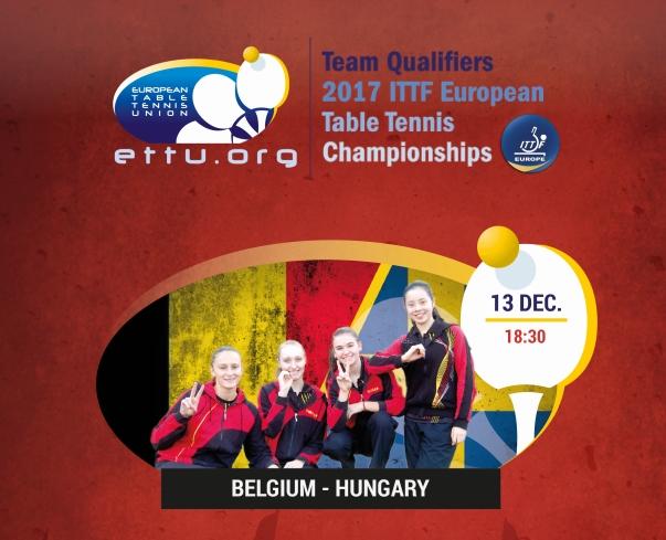 Dames Belgium - Hongary