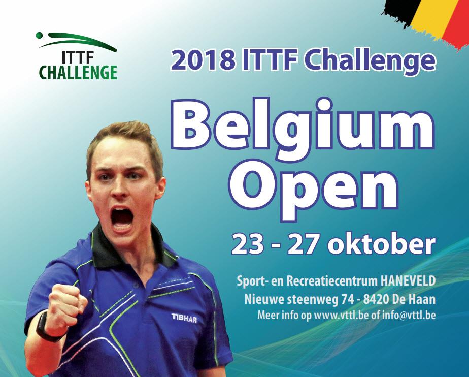 Belgium Open 2018