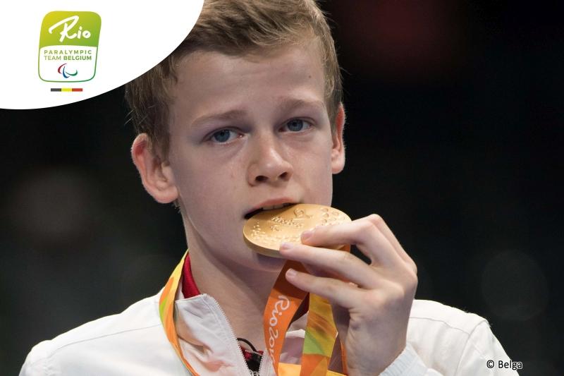 Laurens Devos Goud Paralympics 2016