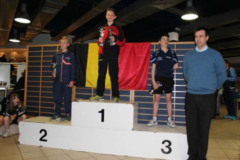 Olav Kosolosky podium top 12 jeugd nationaal 2015